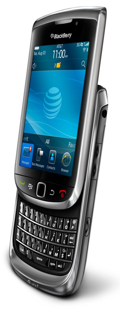 The Blackberry Torch 9800 Smartphone
