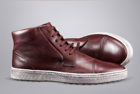 Tod's Brown Leather Lace Ups