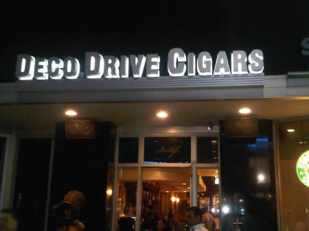 Deco Drive Cigars Miami