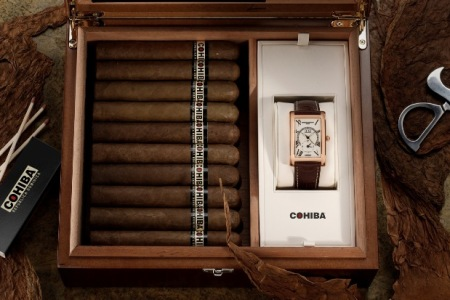 Frederique Constant & Cohiba Limited Edition Watch