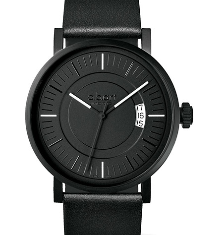 A.B. Art OA Special Edition All Black Watch