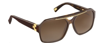 Louis Vuitton Damier GM Chocolate Sunglasses