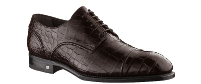 Louis Vuitton Infinity Derby Alligator Leather Shoe