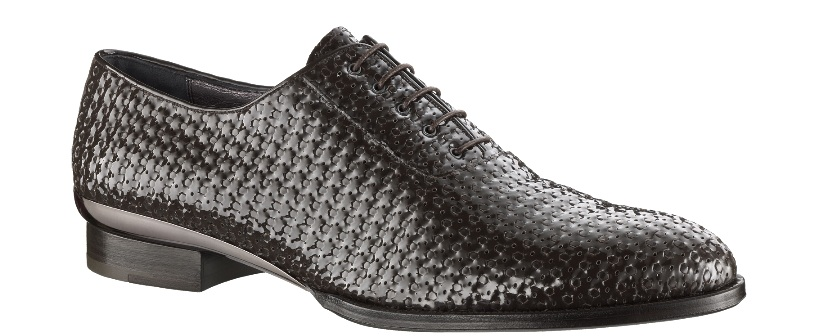 Louis Vuitton Opéra Richelieu Braided Calf Leather Shoe