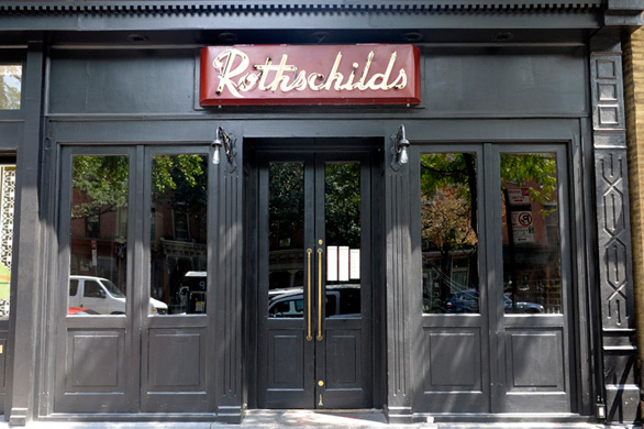 Rothschilds Restaurant Review