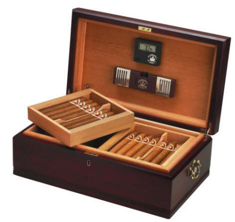 how to set up humidor